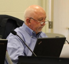Amherstburg CAO Mike Phipps delivers budget recommendations, April 8, 2014.