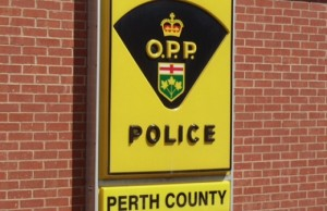 Perth County OPP sign