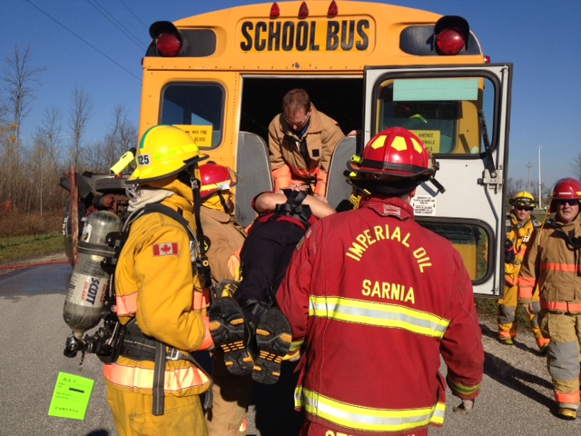 BlackburnNews.com File Photo from Sarnia Area Disaster Simulation Exercise