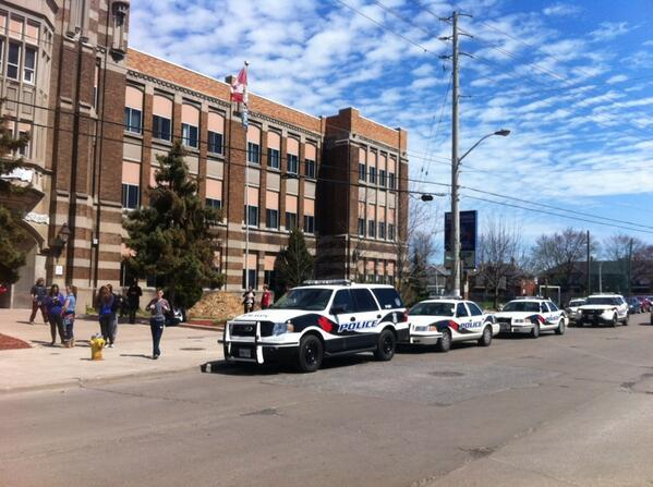Lockdown Over At Walkerville High