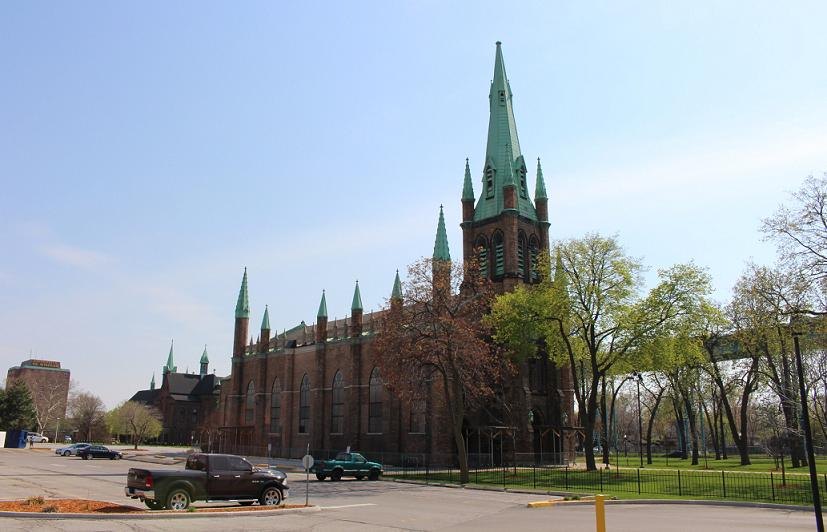 Assumption Church in Windsor
