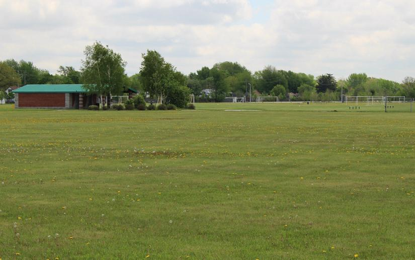 Sports fields at Windsor's Ford Test Track.
