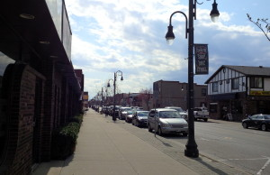The Uptown area on Talbot St. East in Leamington on May 3, 2014. (Photo by Ricardo Veneza)