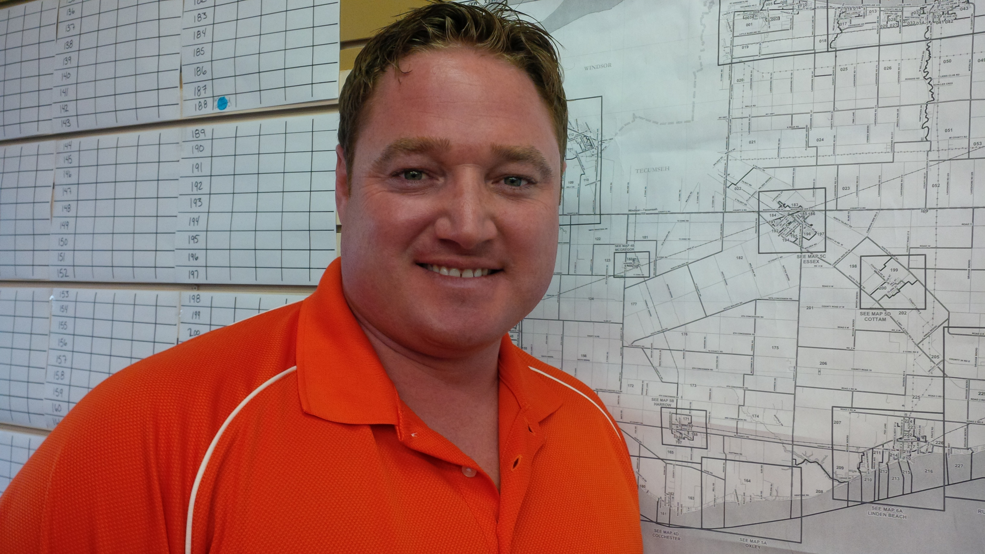 Taras Natyshak is the NDP candidate for the Essex riding in Ontario's 2014 election. (Photo by Ricardo Veneza)