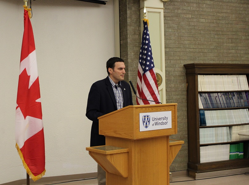 MP Jeff Watson delivers the results of the Windsor Hum report.