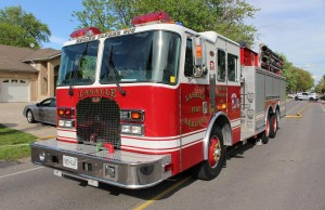 LaSalle Fire Services truck. (Photo by Mike Vlasveld.)