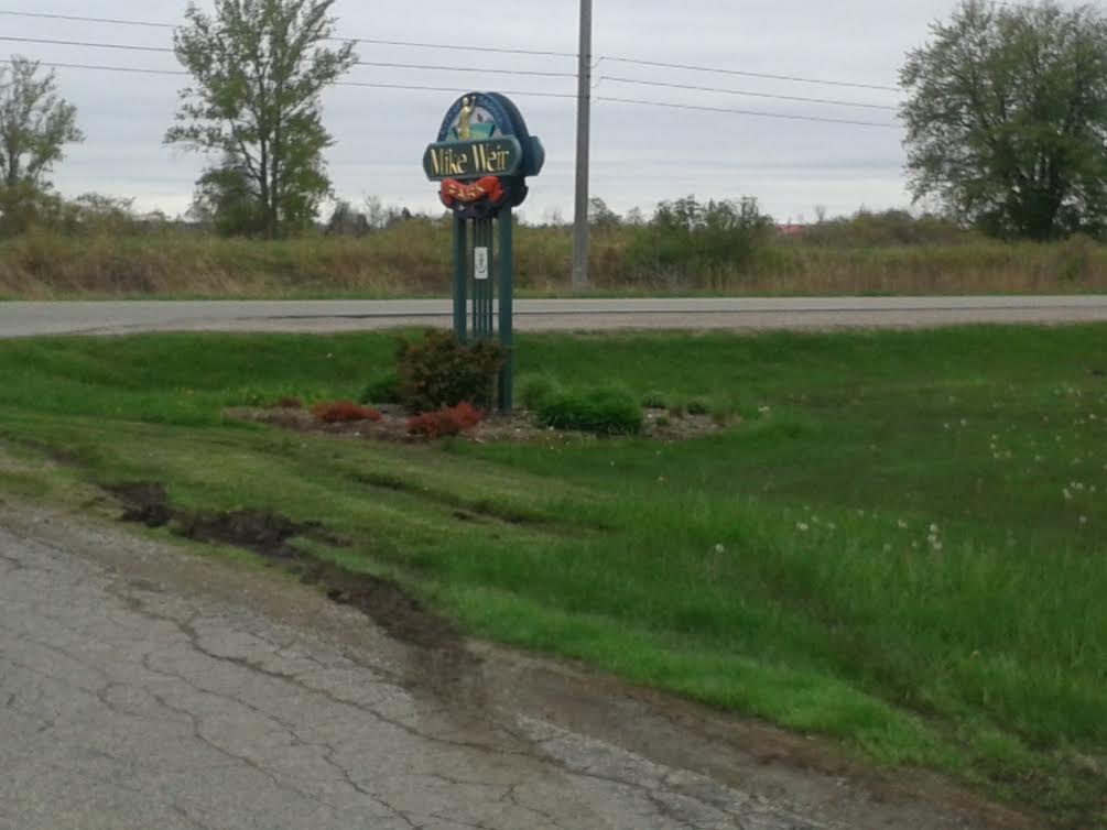 Wet grounds at Sarnia's Mike Weir Park. May 23,2014 BlackburnNews.com (Photo by Stephanie Chaves)