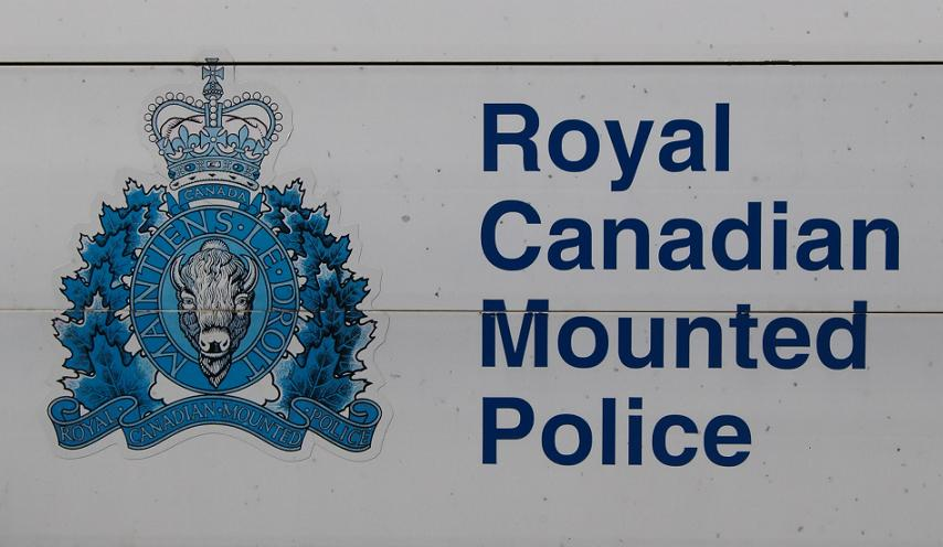 RCMP logo on sign in front of its headquarters on Riverside Dr. in Windsor.