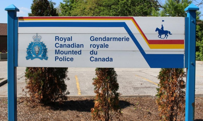 RCMP sign. (BlackburnNews.com file photo)