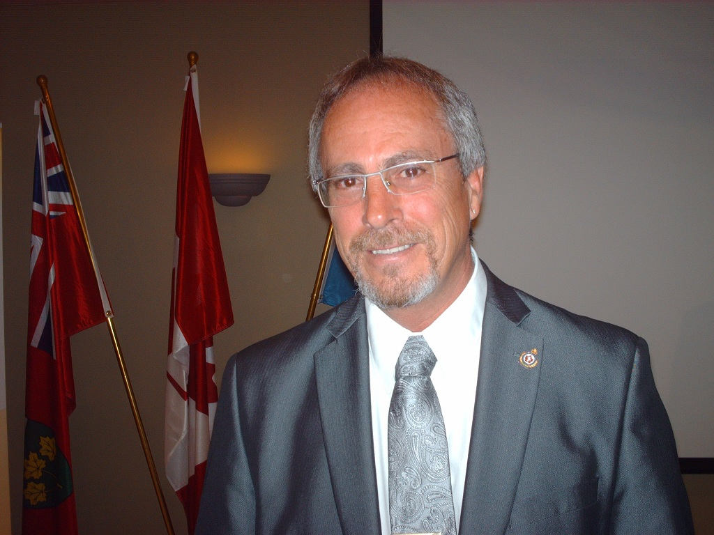 Randy Hope during Mayor's address to Chatham-Kent Chamber of Commerce
