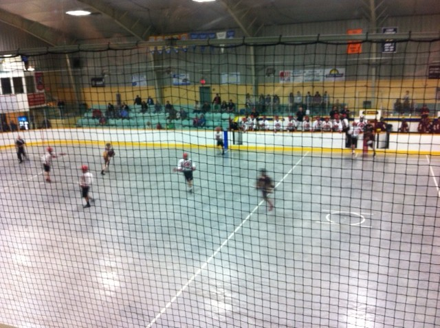 The Wallaceburg Red Devils host Brampton. (Photo courtesy of Mike Regnier)