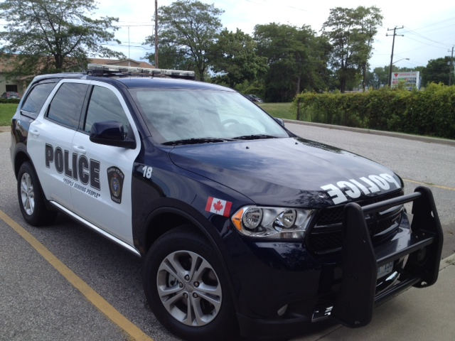 Sarnia police Dodge SUV (BlackburnNews.com file photo)