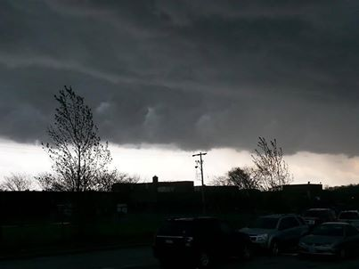 Storm Clouds Over Sarnia May 13, 2014