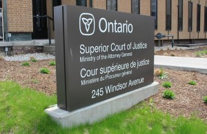 Superior Court of Justice, Windsor.