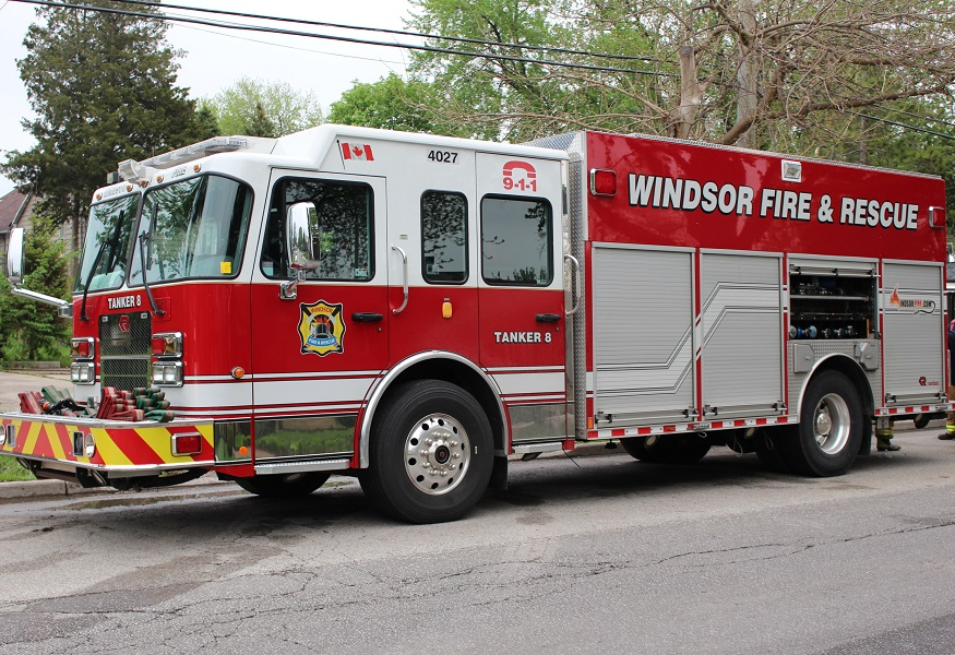 BlackburnNews.com file photo Windsor Fire and Rescue. (Photo by Maureen Revait)