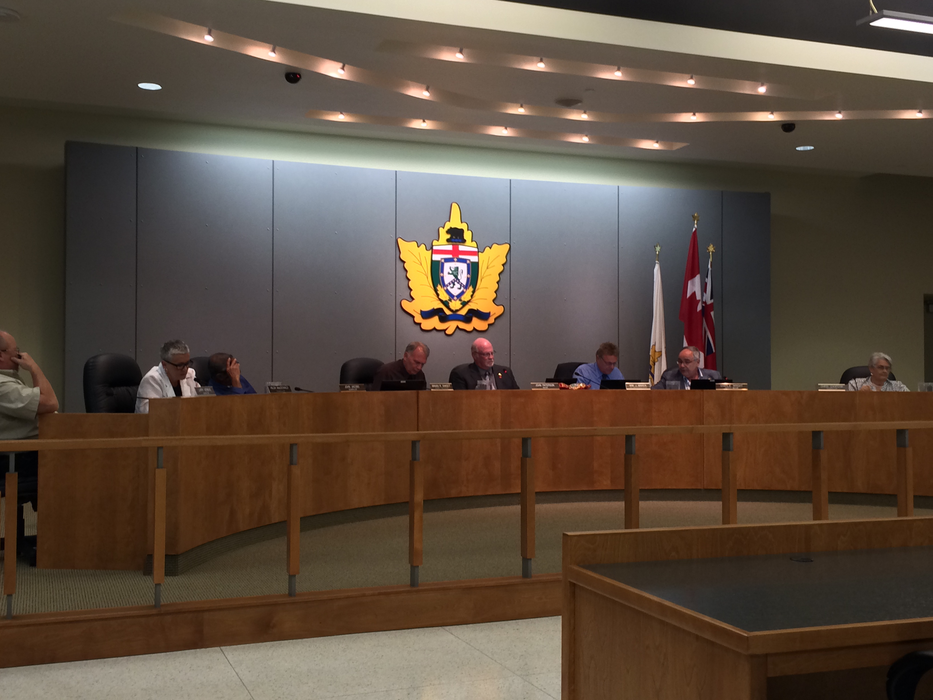 Leamington council meets for its regular meeting on May 26, 2014. (Photo by Ricardo Veneza)