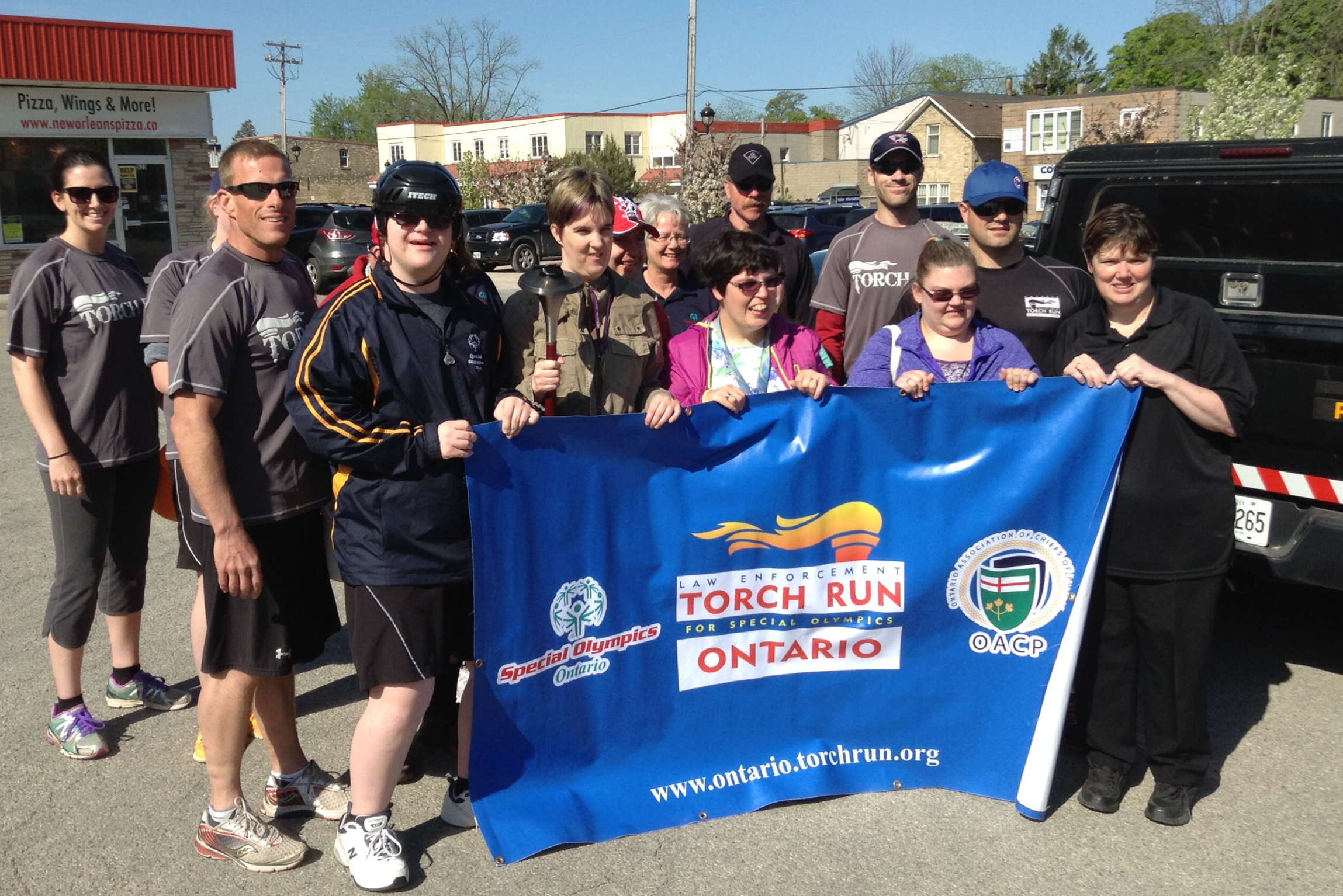 Special Olympics Law Enforcement Torch Run in Kincardine