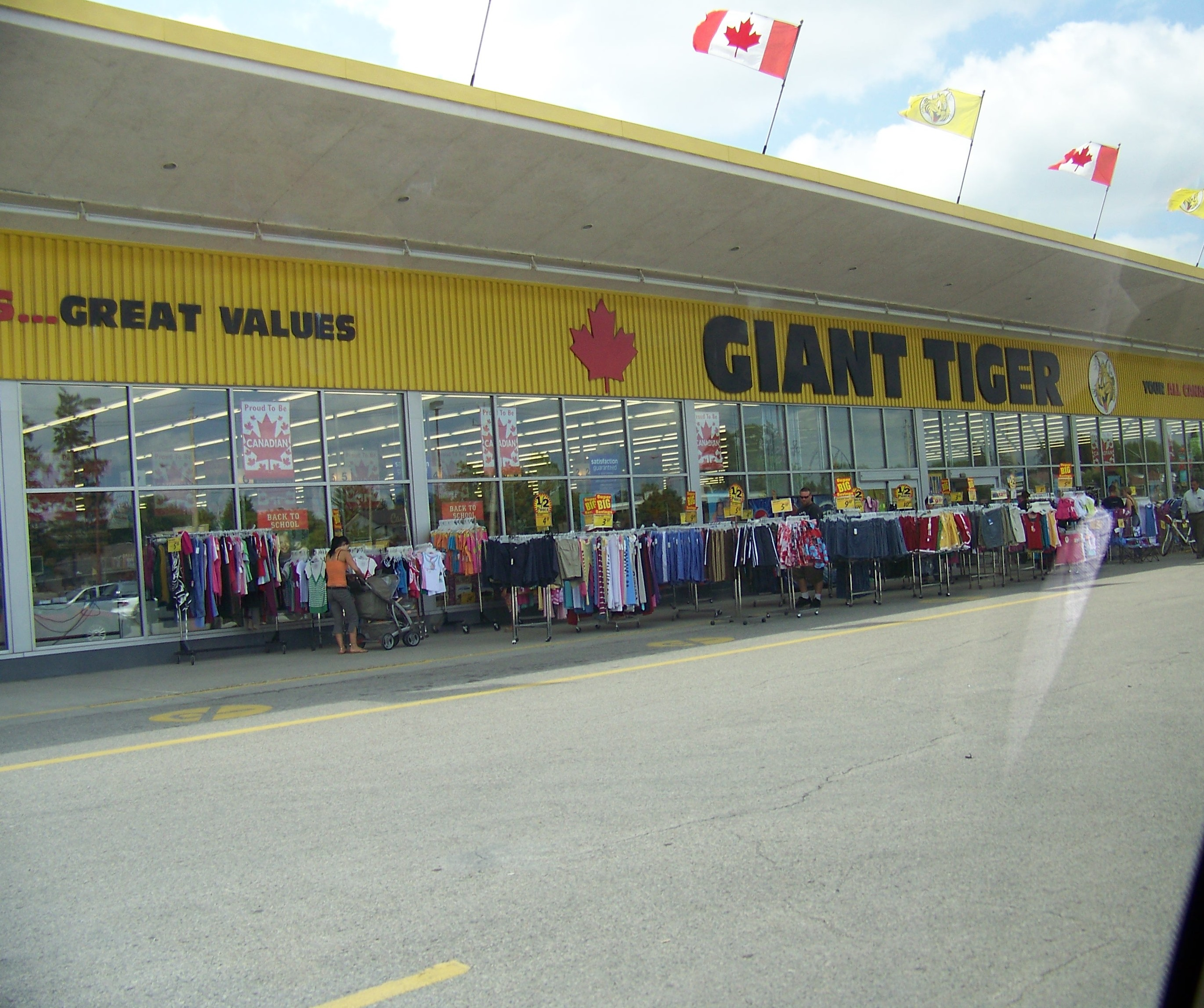 Giant Tiger store front. Photo courtesy of Wikipedia.com