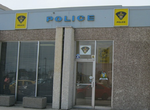 Huron OPP office Goderich