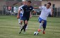 Mike Pio of the Windsor Stars dribbles past a defender in a game against ANB Futbol in League1 Ontario play at McHugh Park in Windsor, June 21, 2014. (Photo by Ricardo Veneza)