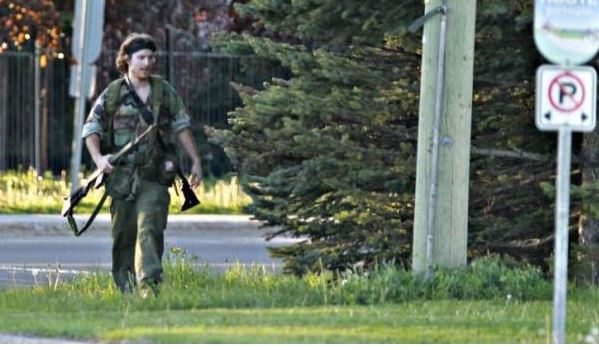 Moncton shooting suspect. Photo from Moncton police.