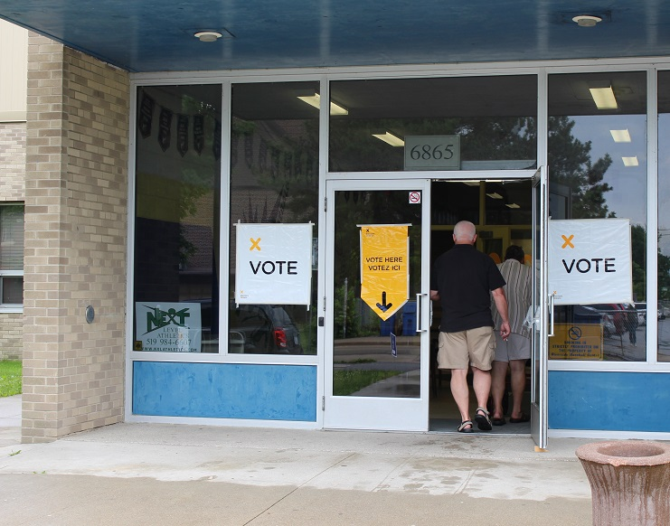 Lower Turnout At Advance Polls