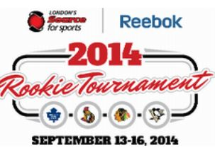 Logo for 2014 Rookie Tournament in London