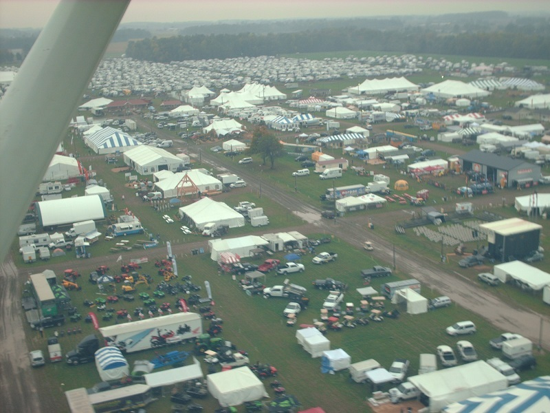 The 2010 International Plowing Match in St. Thomas. (Photo by Simon Crouch)