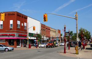 The uptown in Essex, Ontario on June 1, 2012. (Photo courtesy wikipedia)