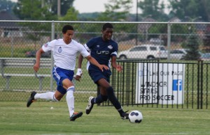 Windsor Stars take on ANB Futbol in League1 Ontario play at McHugh Park in Windsor, June 21, 2014. (Photo by Ricardo Veneza)