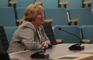 City of Windsor Chief Administrative Officer Helga Reidel, June 19, 2014. (photo by Mike Vlasveld)