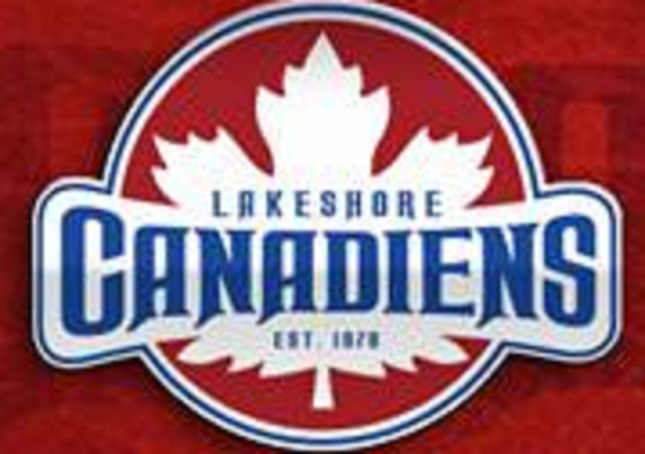 The logo for the Lakeshore Canadiens courtesy of the Lakeshore Canadiens.