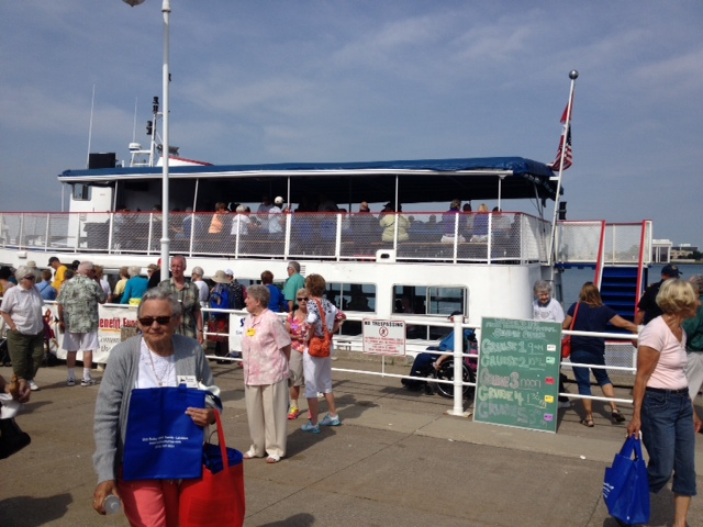 Gorgeous day at Bayshore Park for the 36th Annual Seniors Cruise