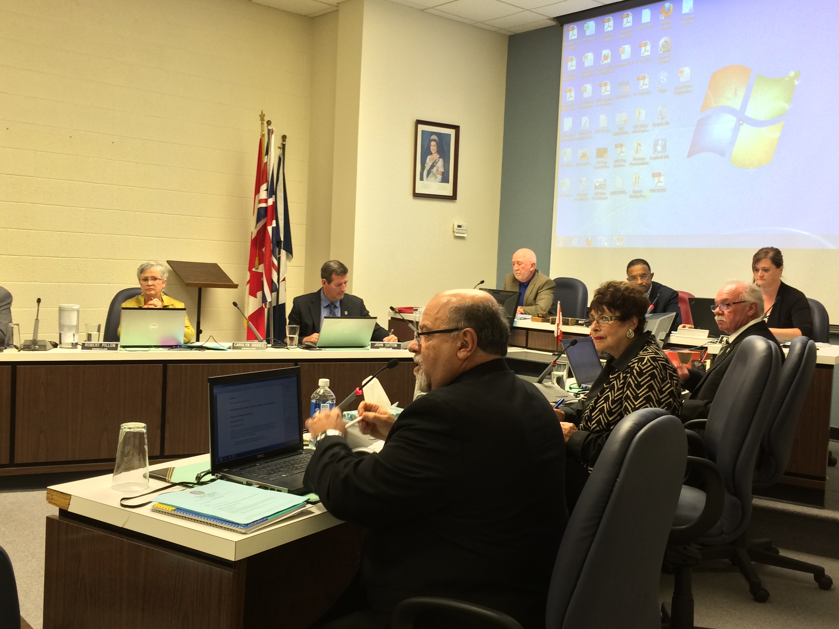 Amherstburg council meets for its regular meeting on June 22, 2014 and discusses process for financial practices review. (Photo by Ricardo Veneza)