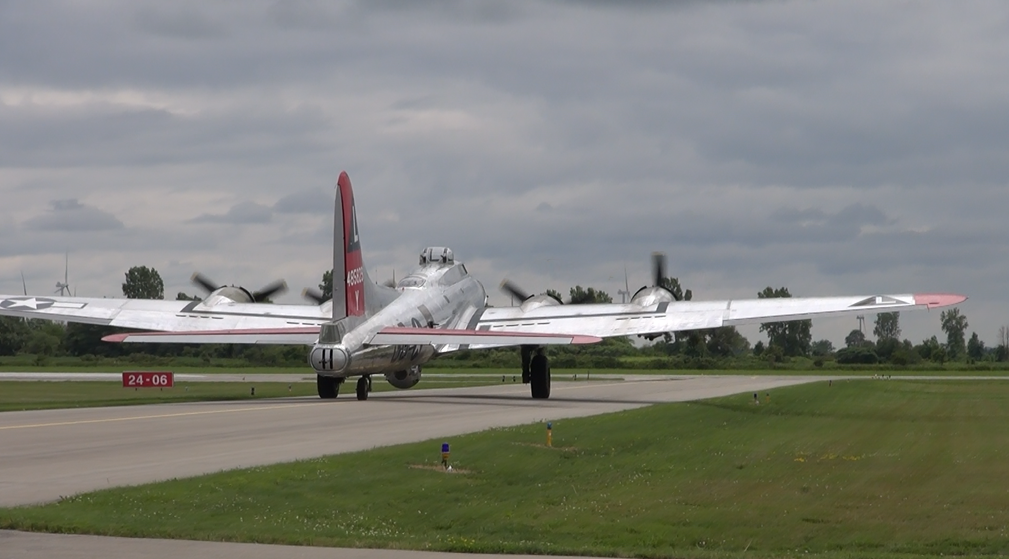 The Yankee Lady at the Chatham-Kent Municipal Airport. July 16 2014 (Photo by Trevor Thompson)