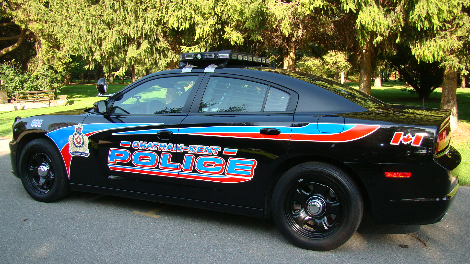 Chatham-Kent police cruiser. (Photo courtesy of Chatham-Kent Police Service.)