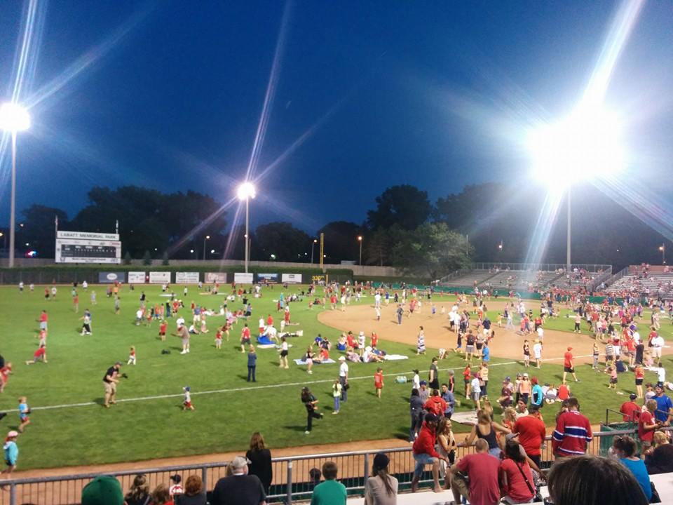 Labatt Park packed for Canada Day game