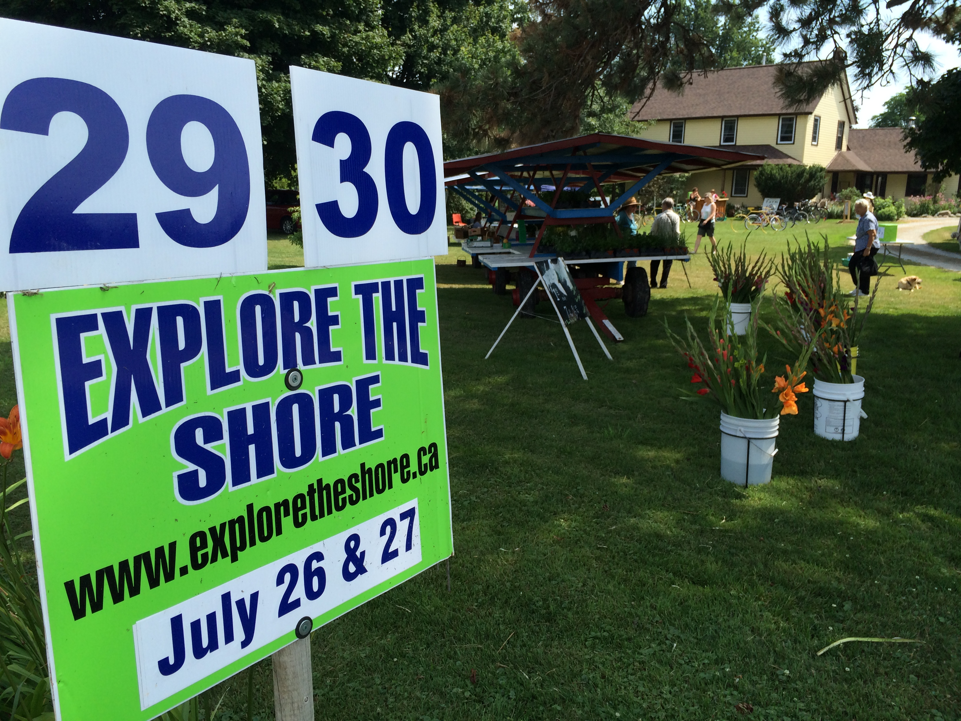 The Explore the Shore event, along County Rd. 50, is held for the fifth time in Essex. Photo taken July 26, 2014. (Photo by Ricardo Veneza)