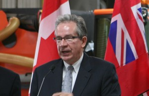 Ontario Minister of Agriculture, Food and Rural Affairs - Jeff Leal