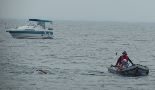 Wingham Native 39 S Swim Across Lake Huron Ends Early