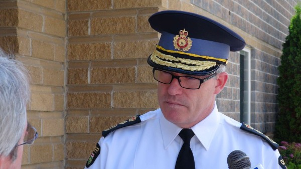OPP Commissioner Vince Hawkes (photo courtesy Kirk Scott)