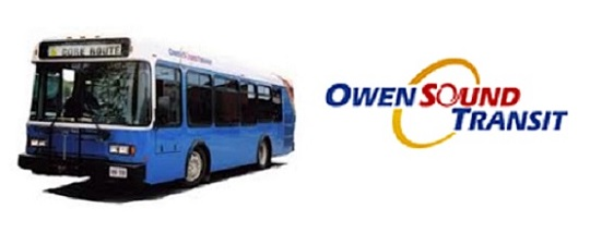 Free Transit in Owen Sound on Election Day