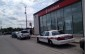 London police attend the scene of an armed robbery at the Scotiabank on Hamilton Rd. Photo by Avery Moore.