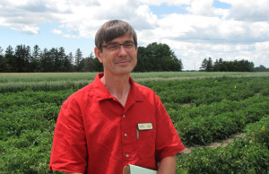 University of Guelph, Ridgetown Campus Researcher Steve Loewen