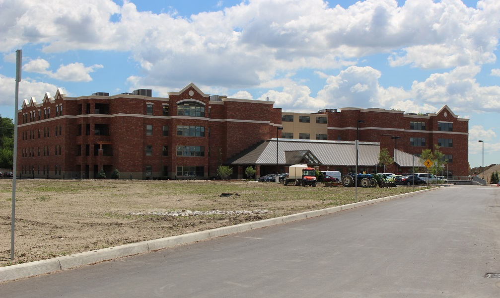Village at St. Clair long-term care facility, July 2014. (Photo by Maureen Revait)