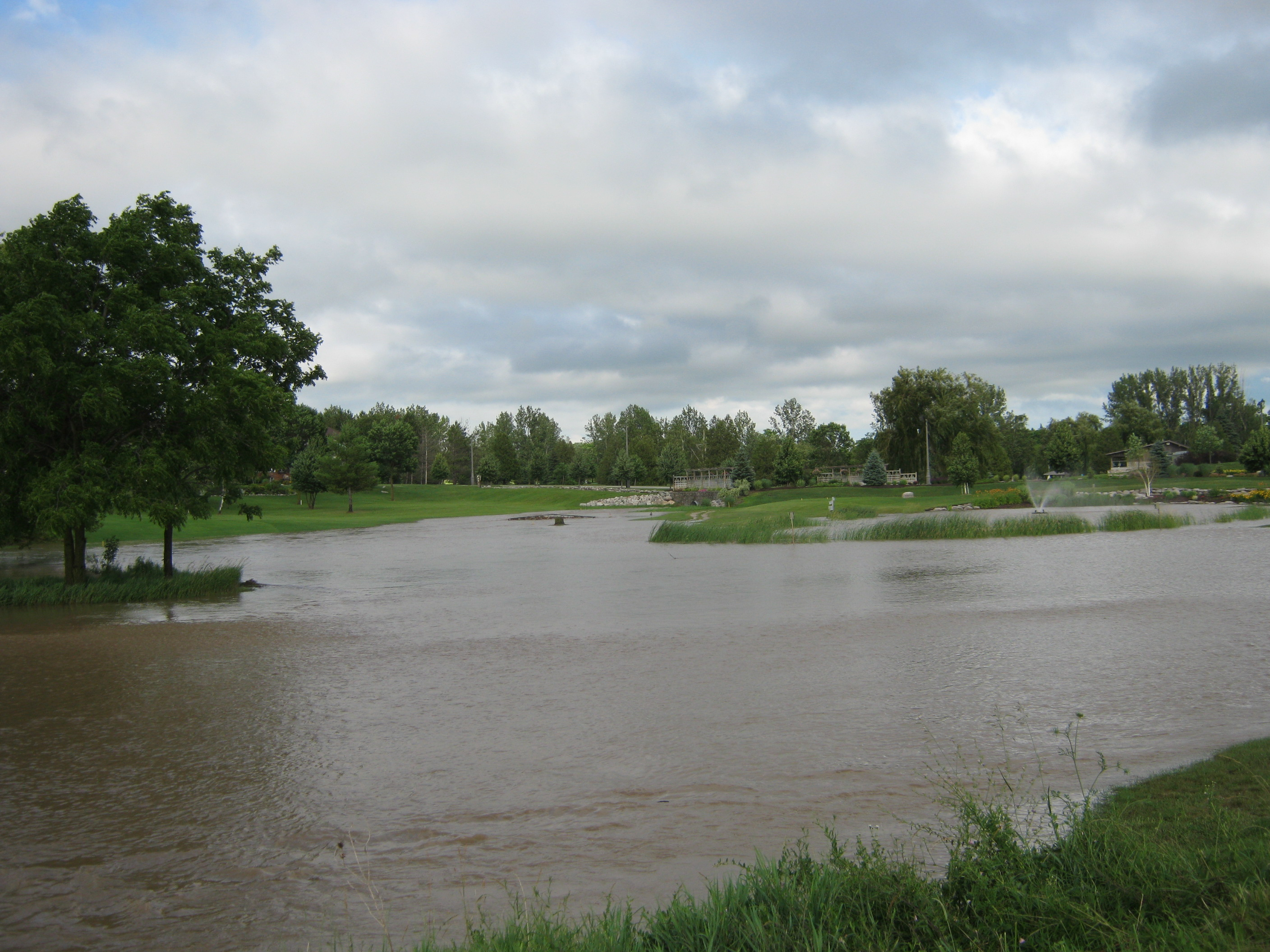 Flooding at Seaforth Golf Course July 8, 2014