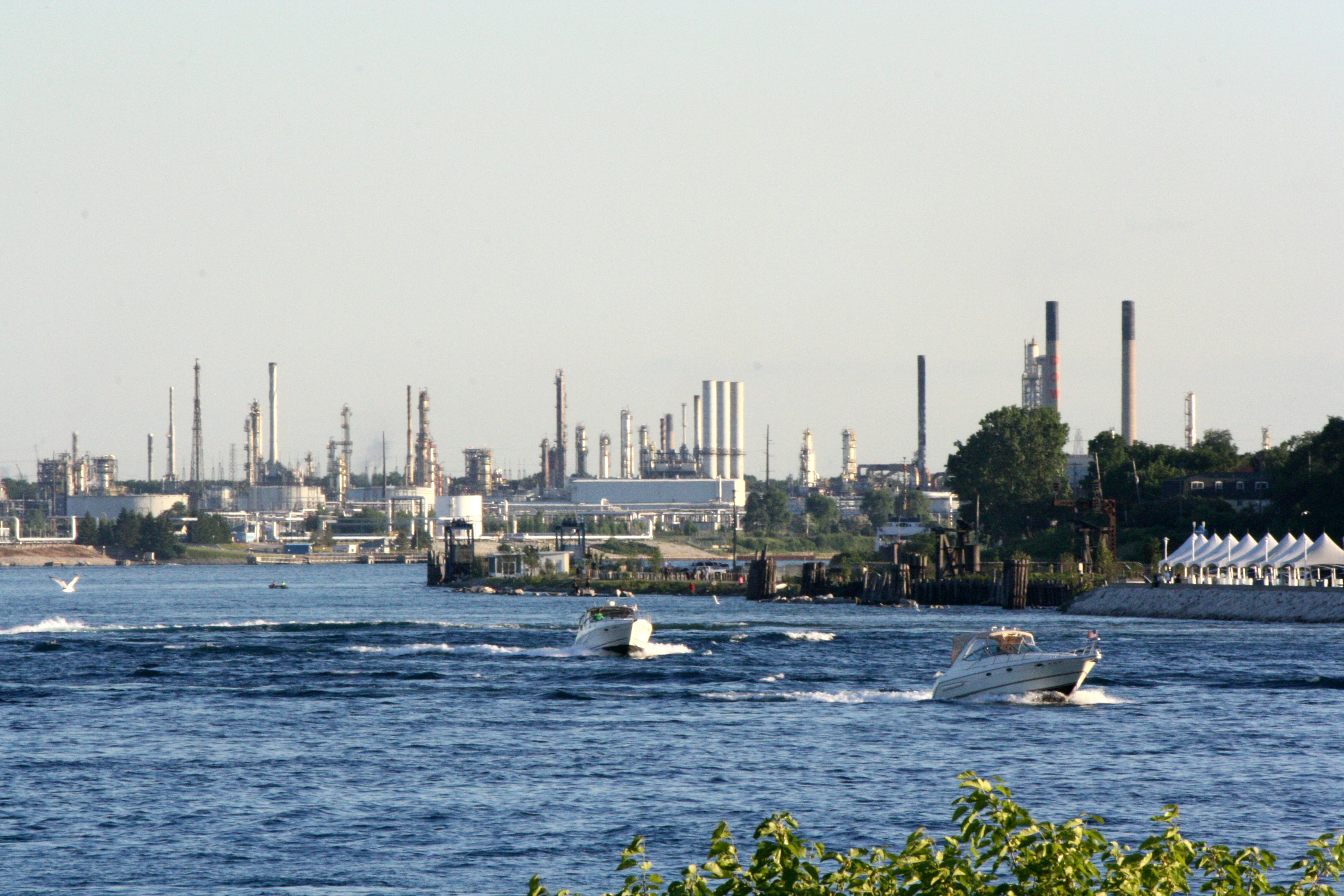 Boats On St. Clair River (BlackburnNews.com file photo by Dave Dentinger)