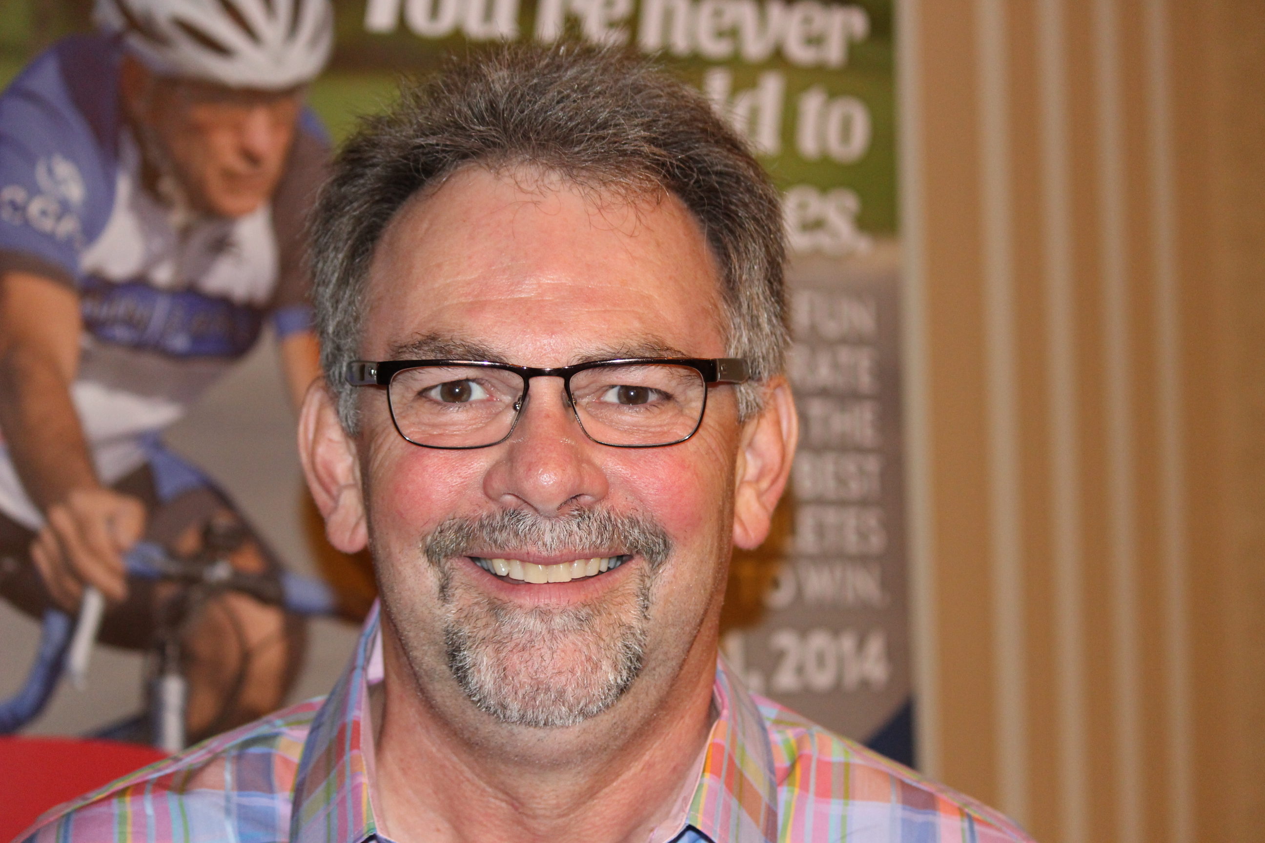 Co-chair of the Ontario 55+ Summer Games, Calvin Little. (Photo by Adelle Loiselle.)