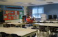 An empty classroom at St. John Vianney Catholic School in Windsor, August 25 2014. (Photo by Adelle Loiselle.)