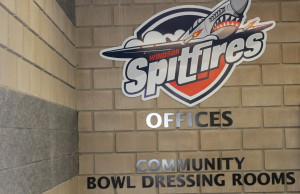 The Windsor Spitfires Offices at the WFCU Centre in Windsor, August 25 2014. (Photo by Adelle Loiselle.)